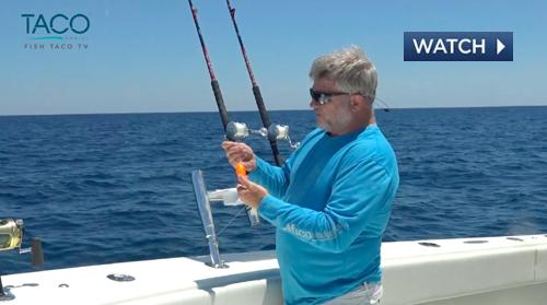 TACO Marine kite fishing video