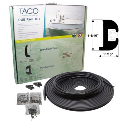 TACO Marine rub rail kit