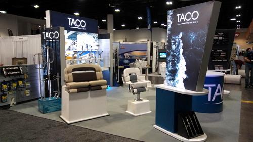 TACO Marine IBEX booth